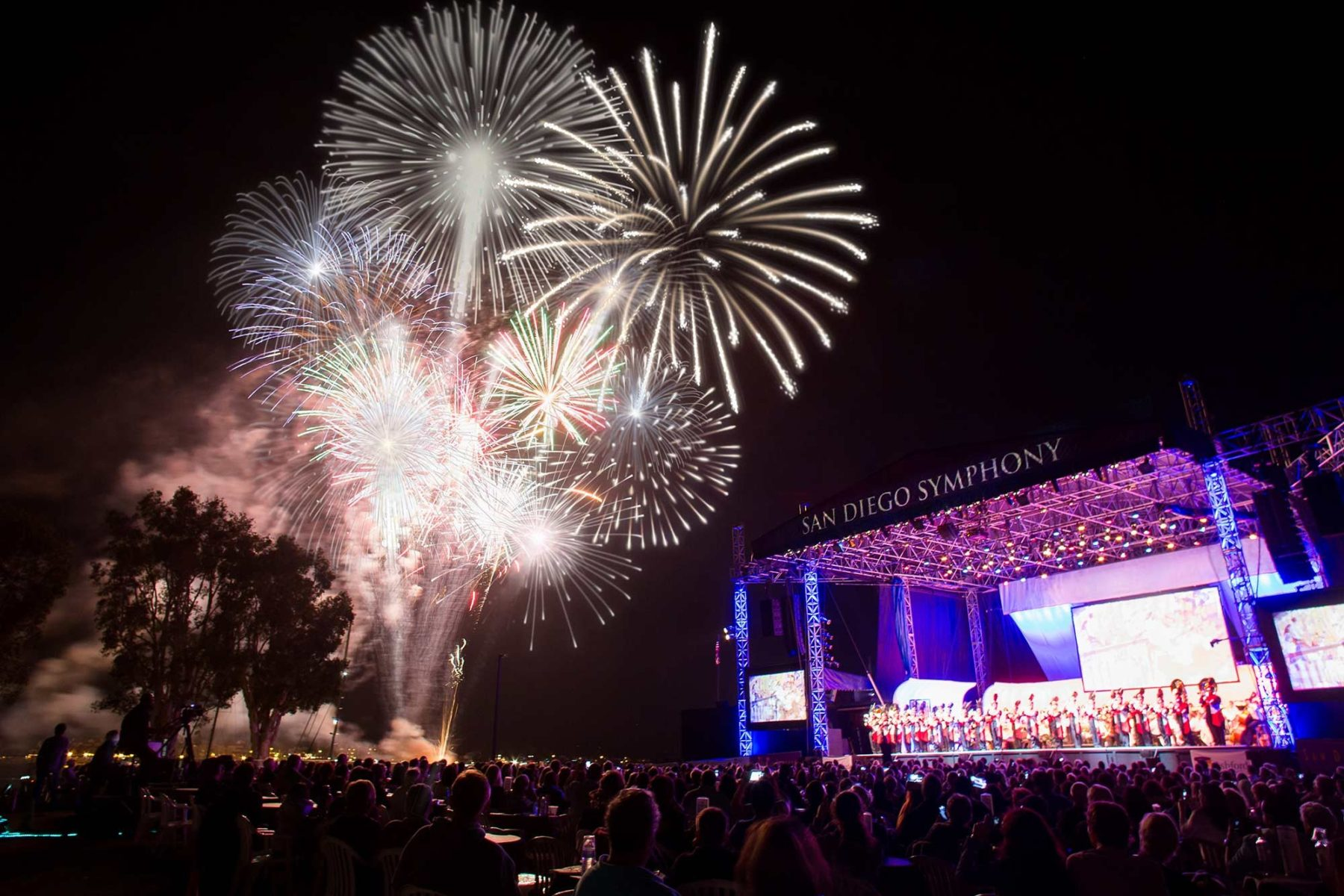 SD Symphony at the Bayside Summer Nights