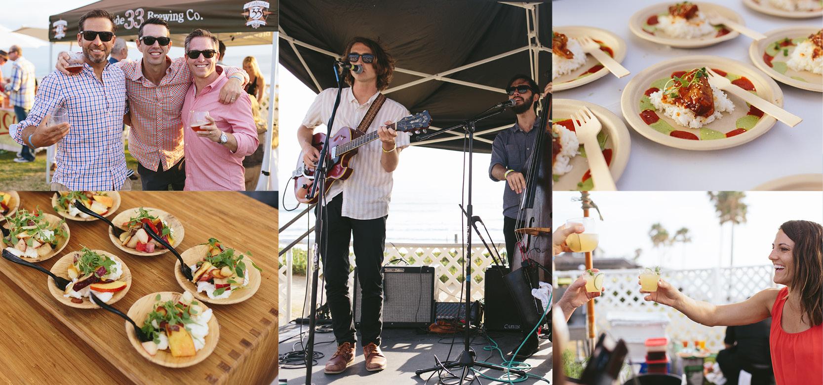 Summer Solstice Party at Del Mar Beach