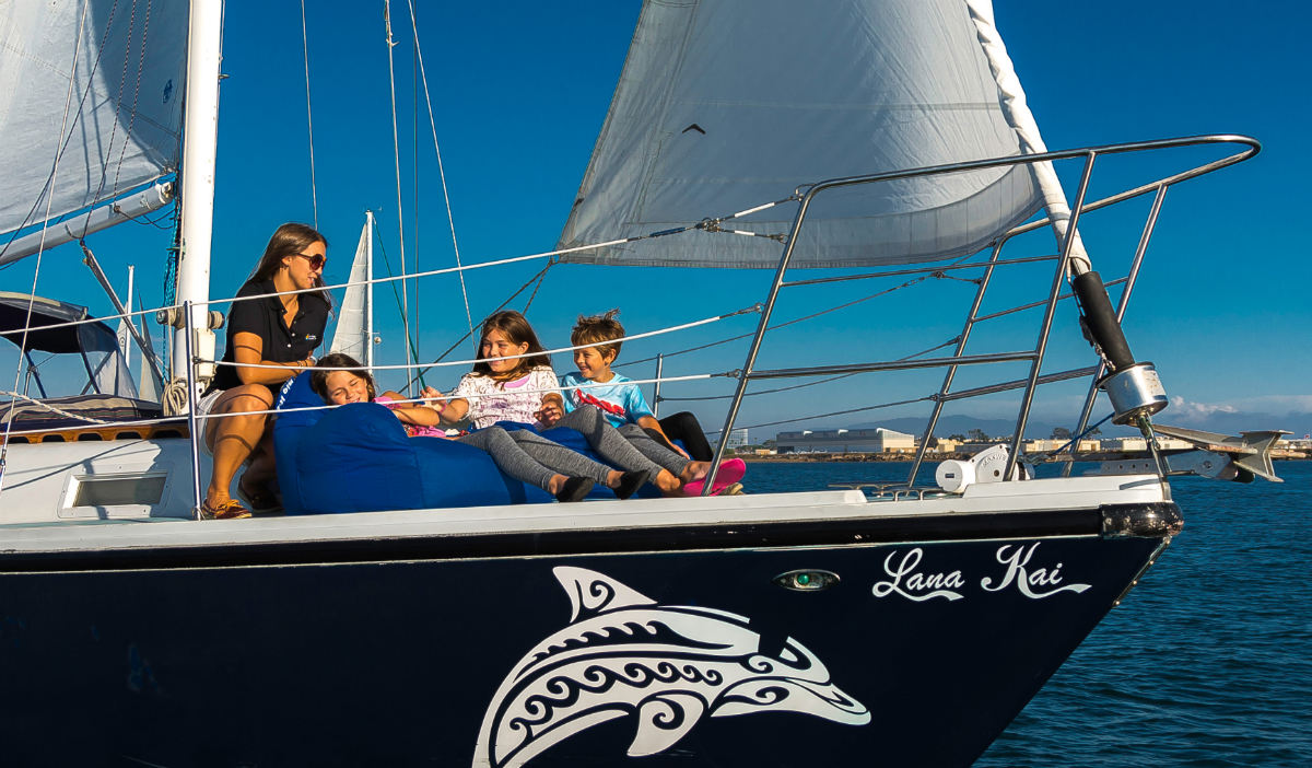 Kids Sail FREE for the Month of October!
