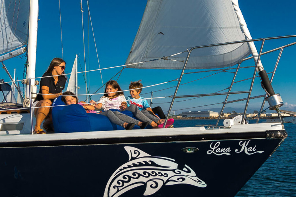 Kids Sail Free In October With San Diego Sailing Tours - Kids sail free