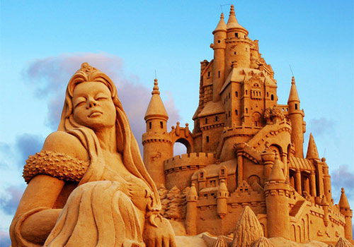 Sandcastles and Summer at the Beach
