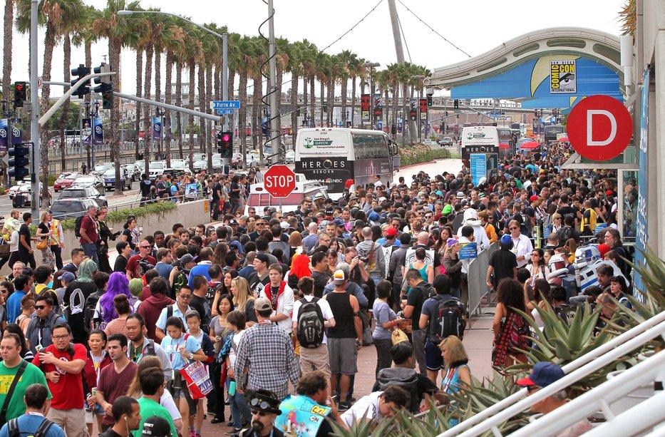 Preparing for the Comic-Con Crowds