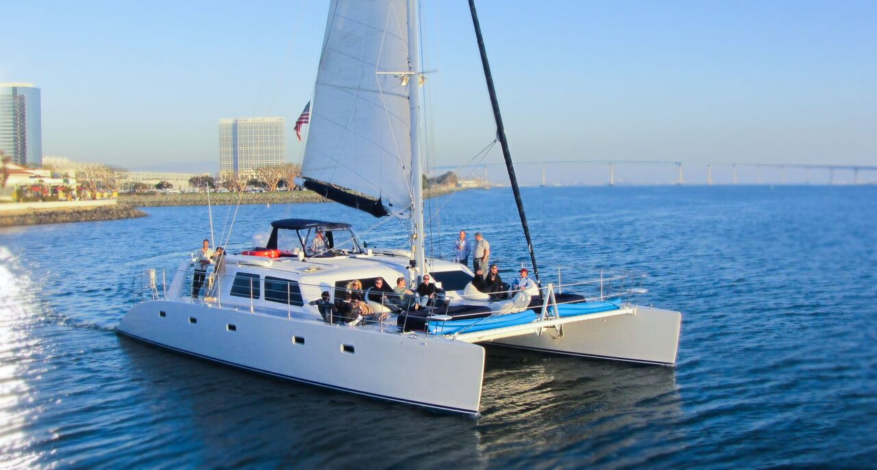60' LUXURY SAILING CATAMARAN