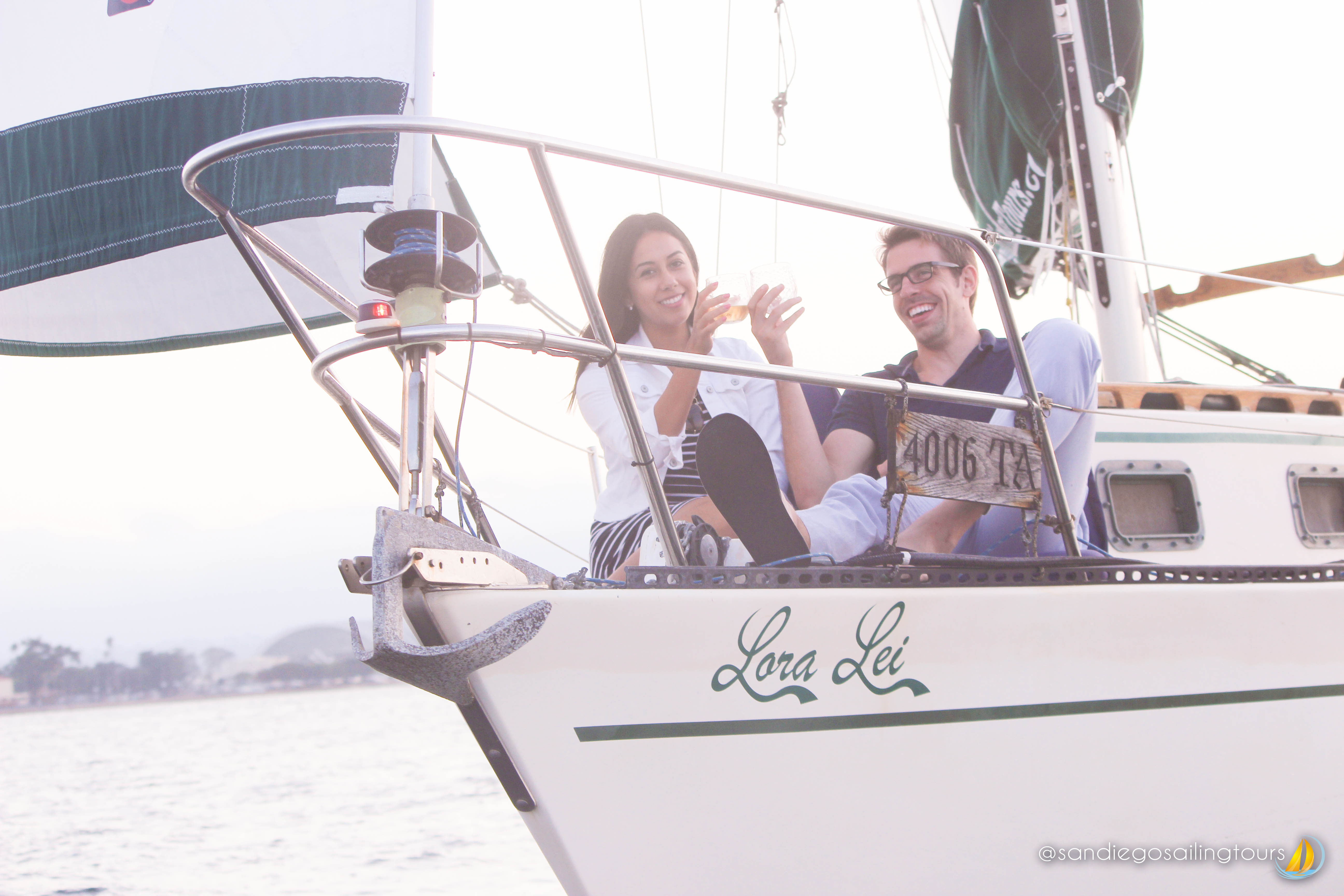Featured Image: Sailing Couple