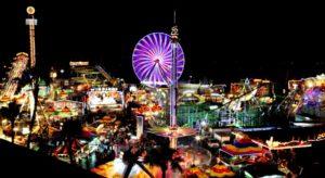 del mar fair at night