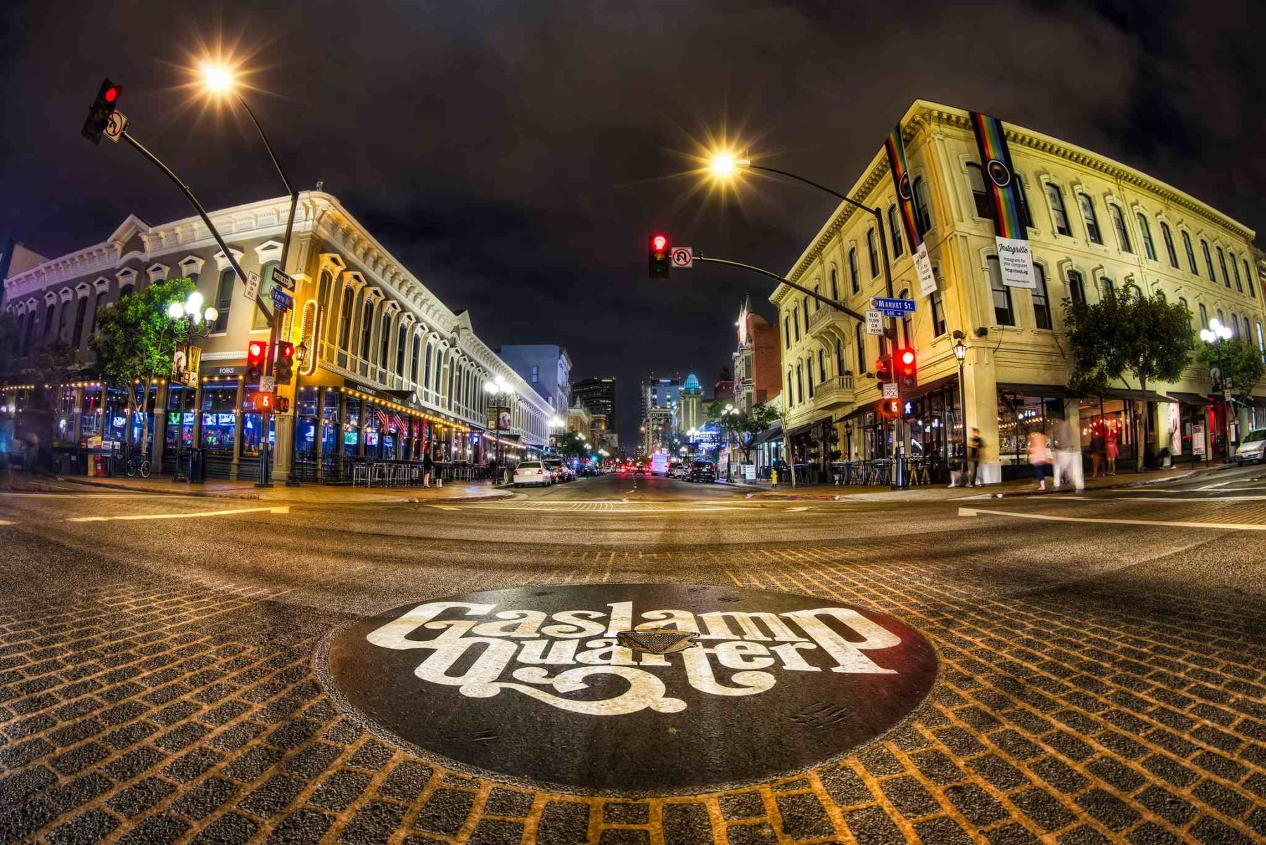 Places to Visit in San Diego: The Gaslamp Quarter