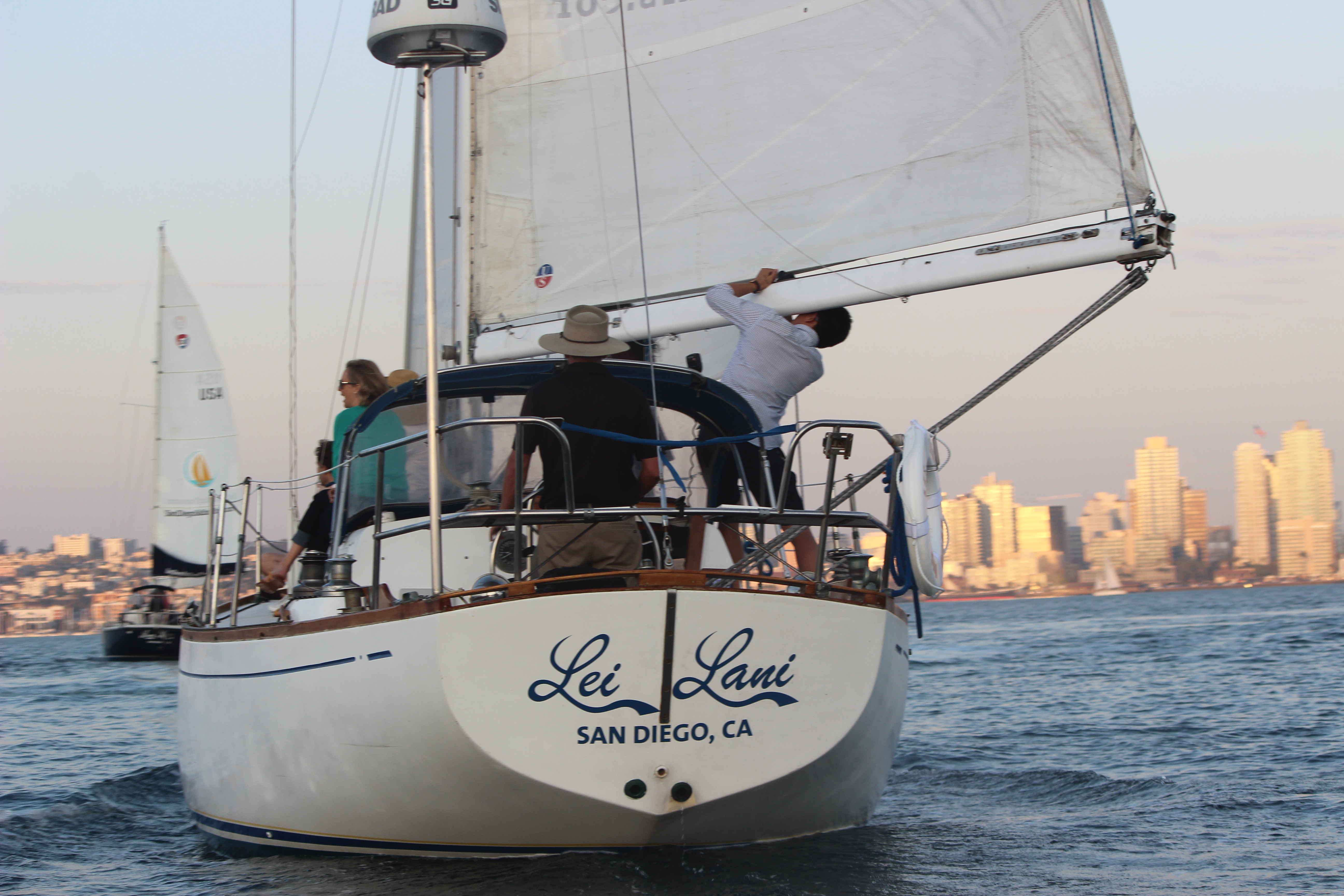 San Diego Charter Sailboat