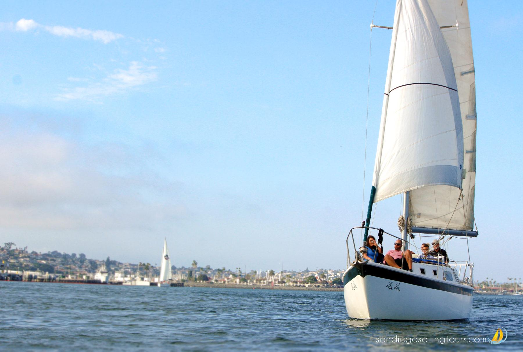 Featured Image: Lau Lea Afloat on the Bay