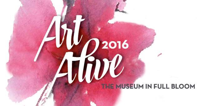 """Spring in San Diego: San Diego Museum of Art """"Art Alive- Museum in Bloom"""""""