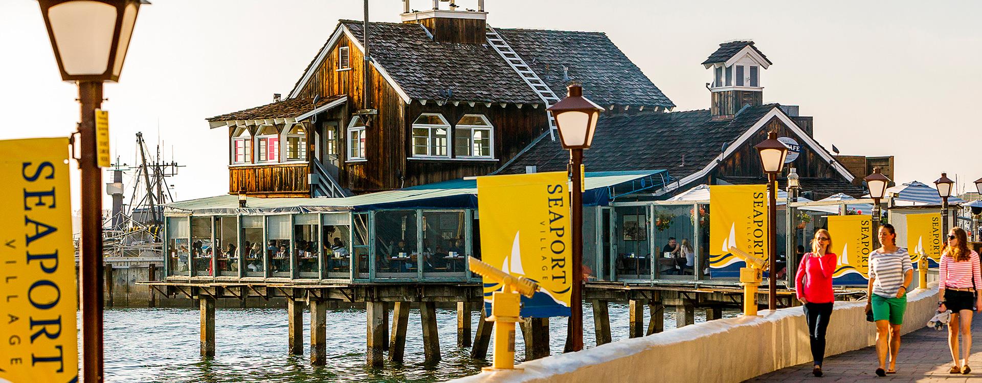 seaport villge