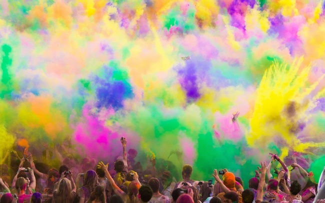 Holi – The Festival of Colors (May 24-26)