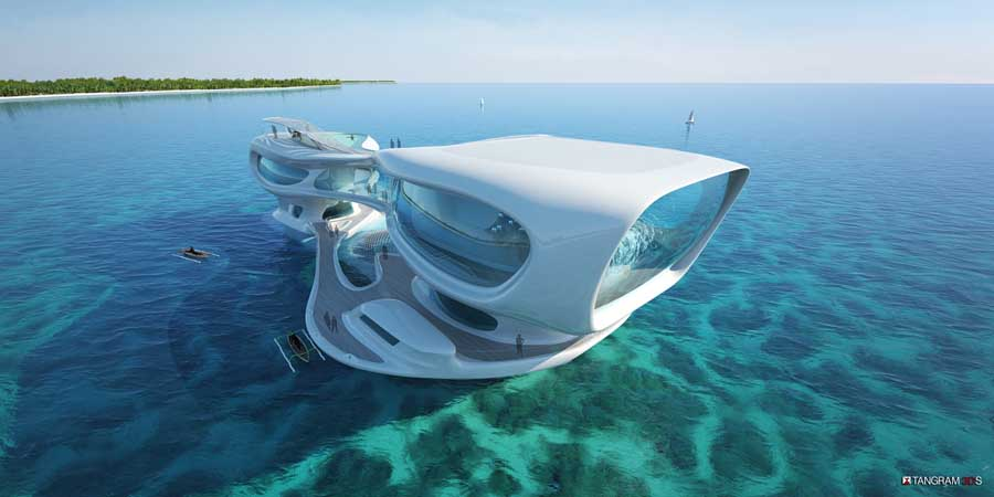 The Marine Research Center in Bali