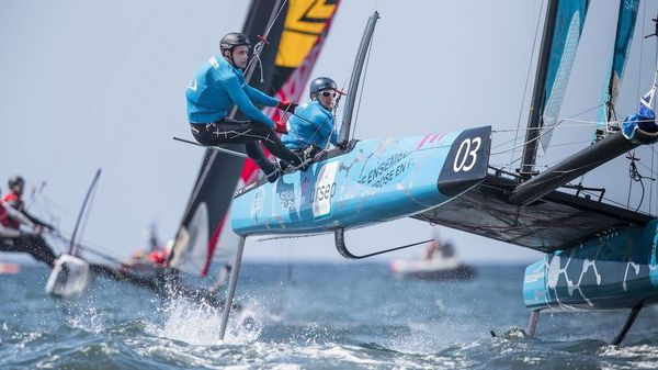 Extreme Sailing in San Diego
