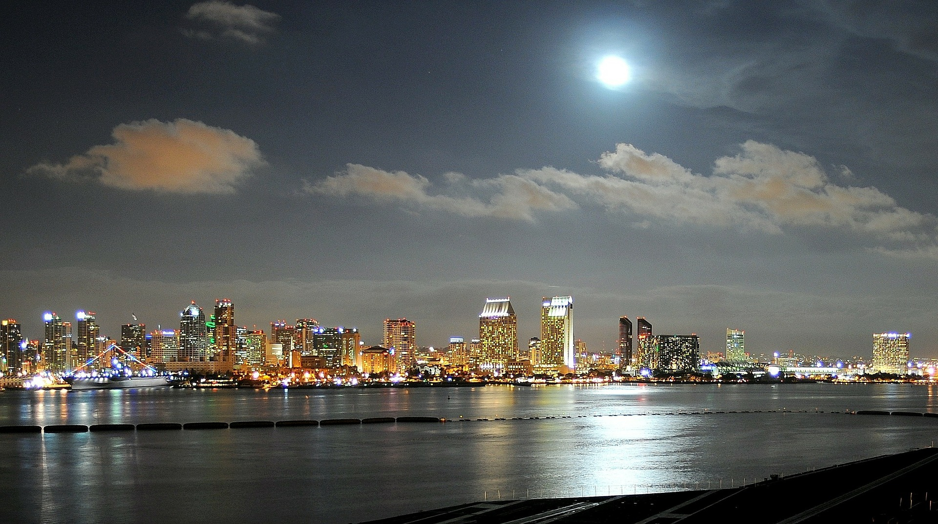 san diego at night