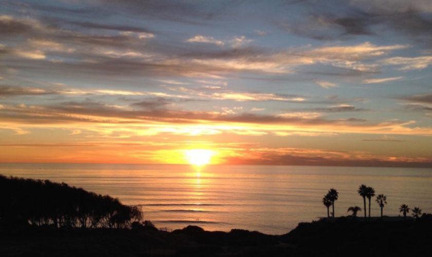 sunset sliffs