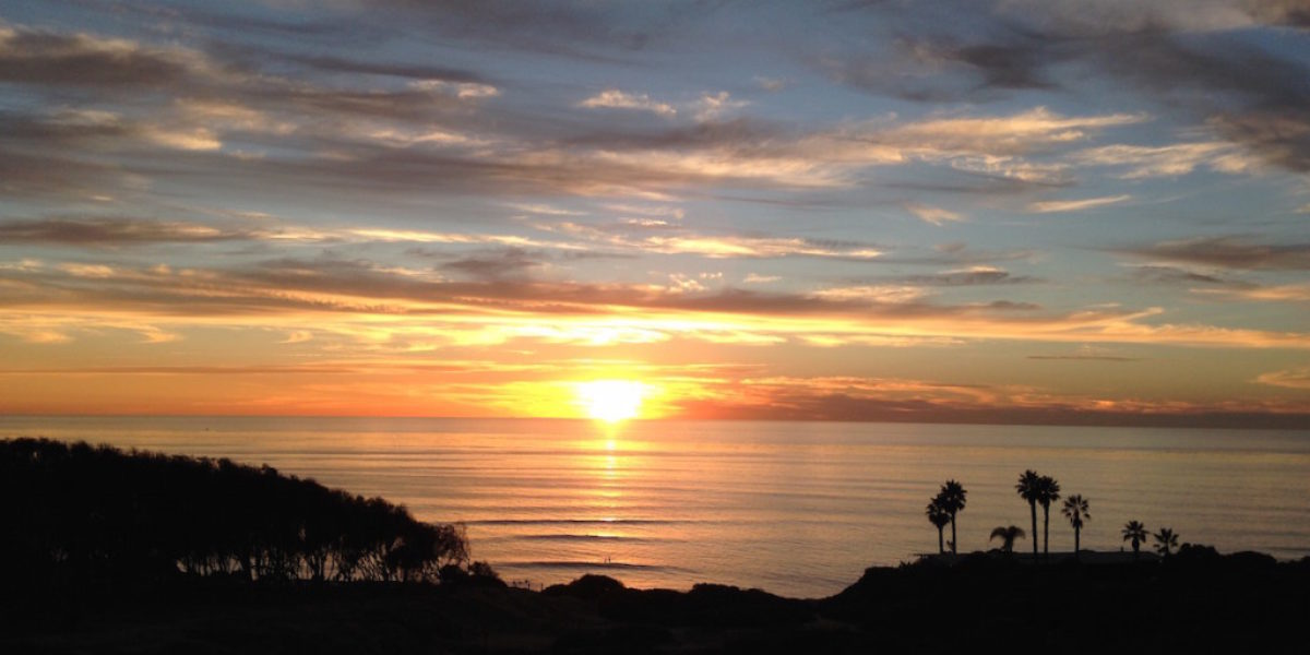 Beautiful San Diego Sunsets at Sunset Cliffs